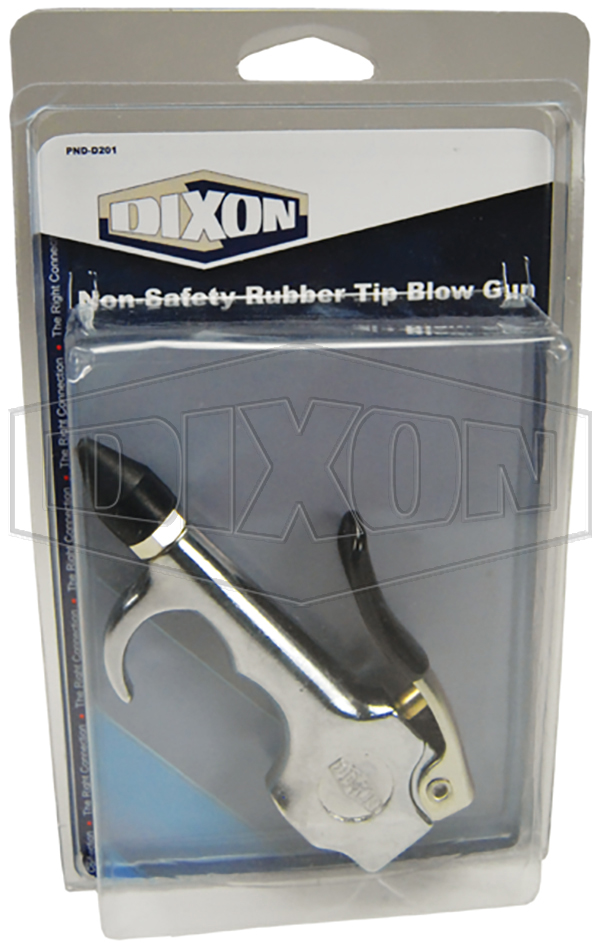 Non-Safety Rubber Tip Blow Gun - Retail Packaged