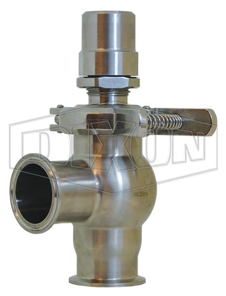 Dixon Sanitary Pressure Relief Valve L Style