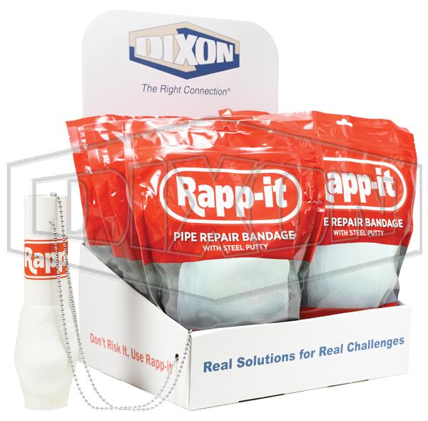 Rapp-it Pipe Repair Display