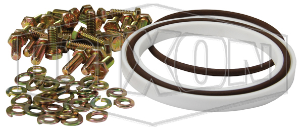 engineered fluid transfer couplings split flange swivel component seal kit