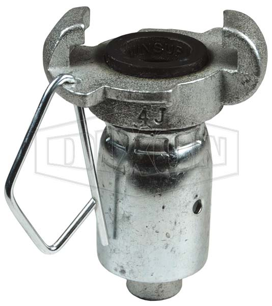 surelock hose end with ferrules universal claw fittings