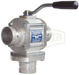 Mann Tek Two-Way Full Flow Ball Valve Grooved