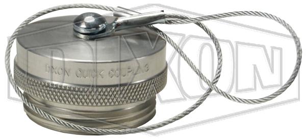 WS-Series High Pressure Wingstyle Interchange Rigid Dust Plug